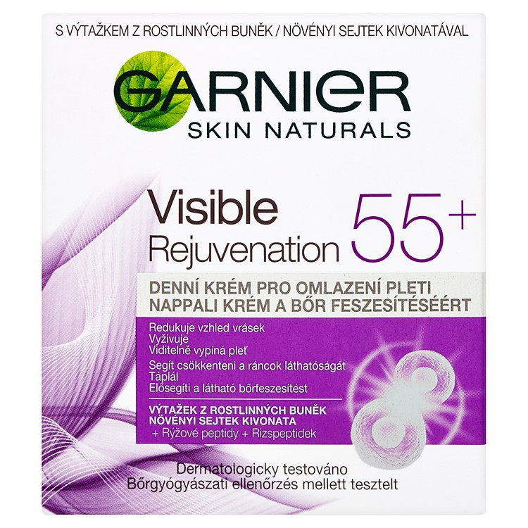 Garnier Skin Naturals Essentials 55+, denní krém proti vráskám 50 ml