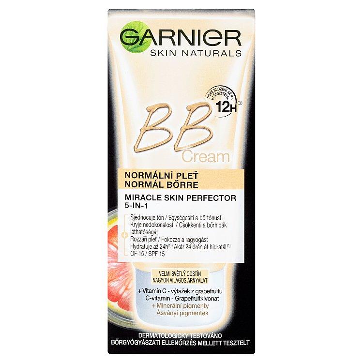 Fotografie Garnier BB Cream (krém) 50 ml extra světlý odstín