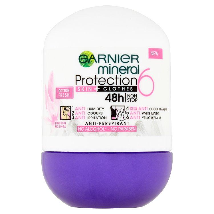 Garnier Mineral Protection 5 Cotton Fresh minerální antiperspirant 50 ml