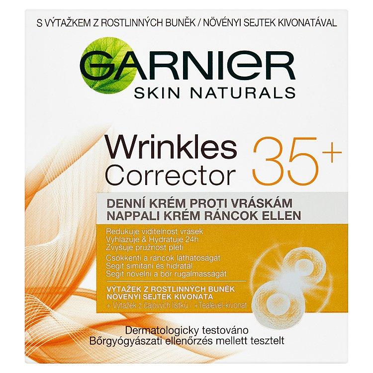 Fotografie Garnier Skin Naturals Essentials 35+, denní krém proti vráskám 50 ml