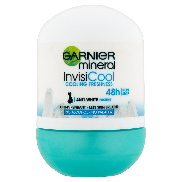 Garnier Mineral Invisi Cool minerální antiperspirant 50 ml