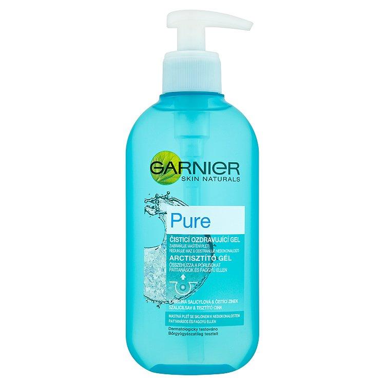 Garnier Skin Naturals Pure, čisticí ozdravující gel 200 ml