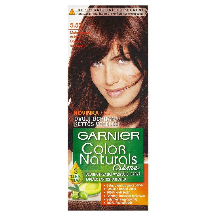 Garnier Color Naturals Crème dlouhotrvající vyživující barva mahagonová duhová 5.52