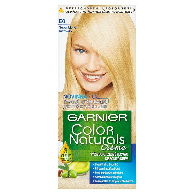 Garnier Color Naturals Crème vyživující zesvětlovač super blond E0