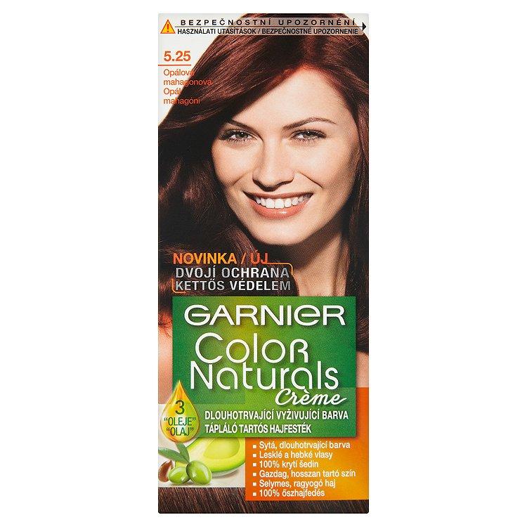 Garnier Color Naturals Crème dlouhotrvající vyživující barva opálová mahagonová 5.25