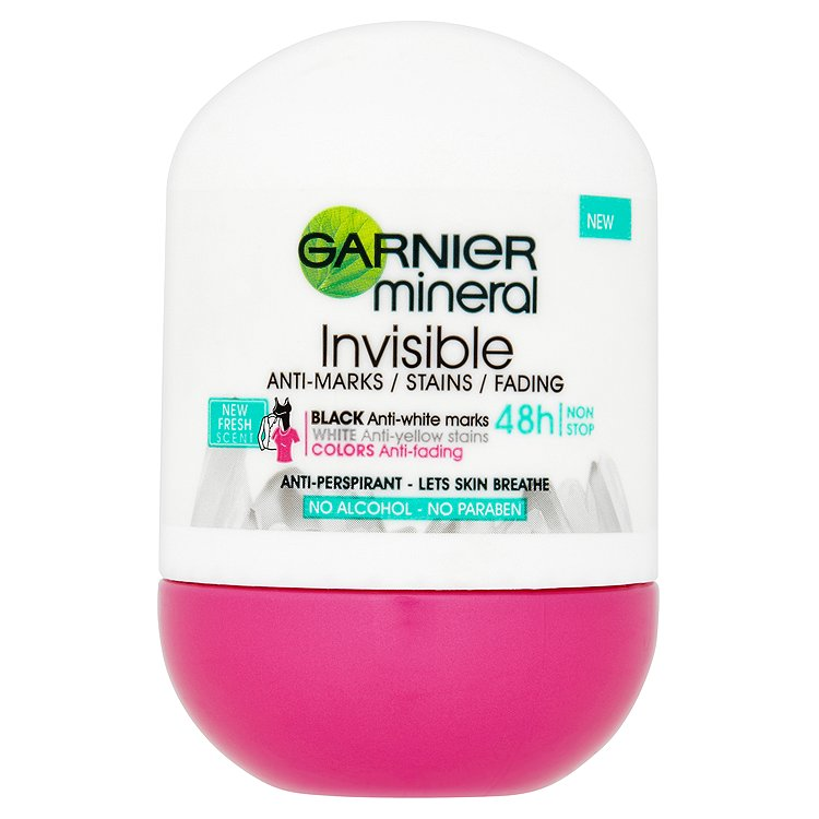 Garnier Mineral Invisible 48 h antiperspirant 50 ml