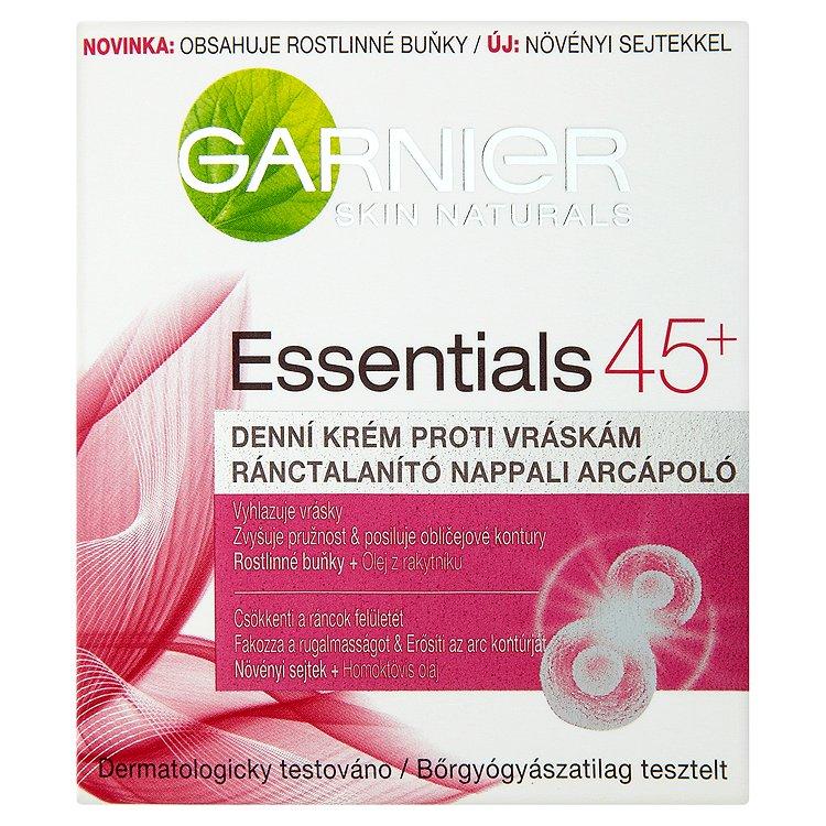 Garnier Skin Naturals Essentials 45+, denní krém proti vráskám 50 ml