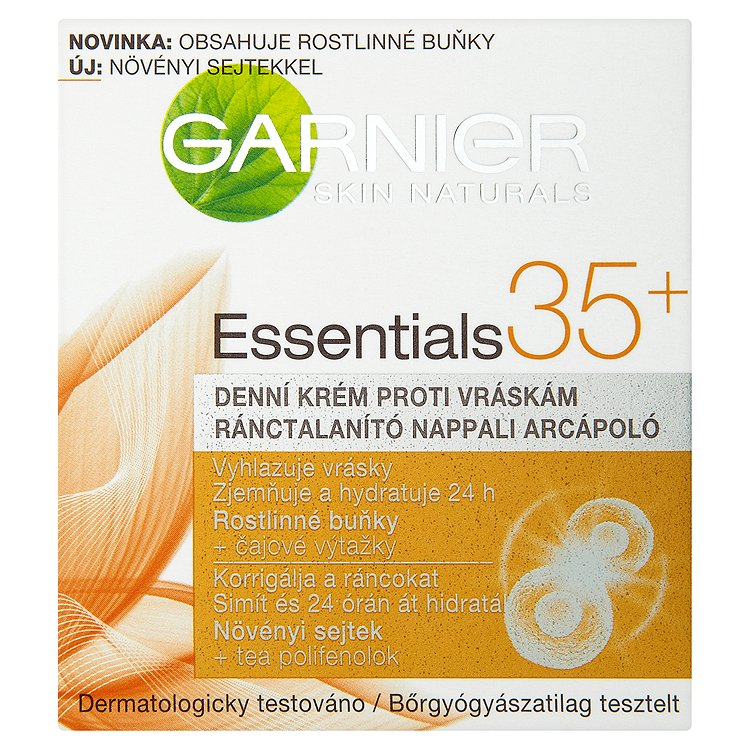 Garnier Skin Naturals Essentials 35+, denní krém proti vráskám 50 ml
