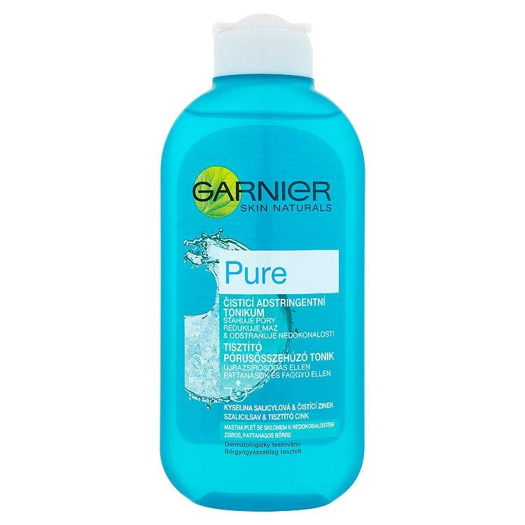 Garnier Skin Naturals Pure čisticí adstringentní tonikum 200 ml