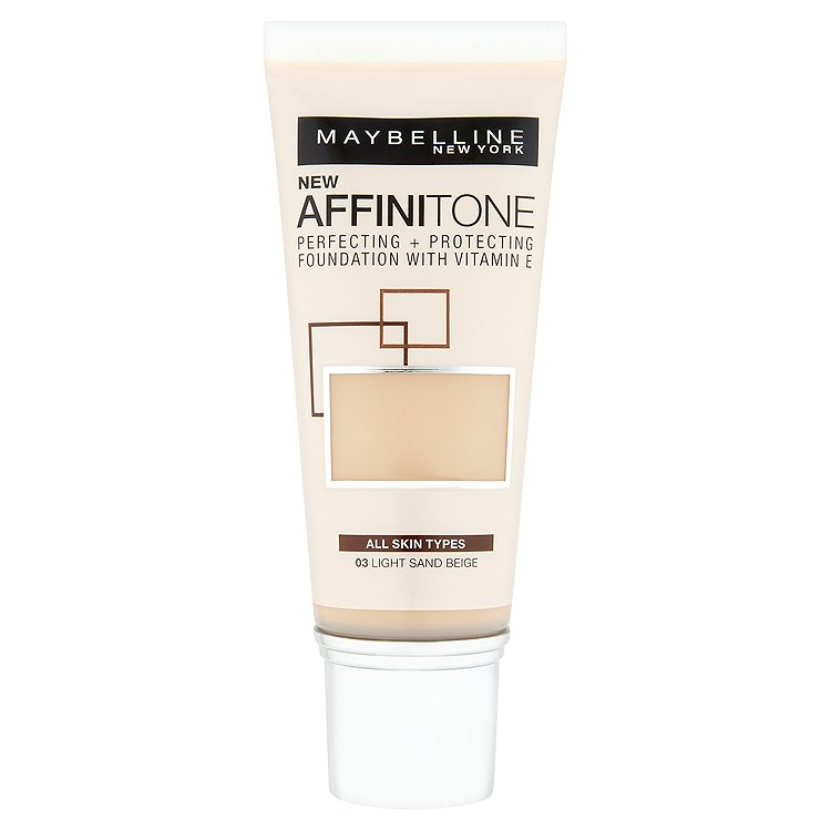Maybelline Affinitone, hydratační make-up Light Sand Beige 03
