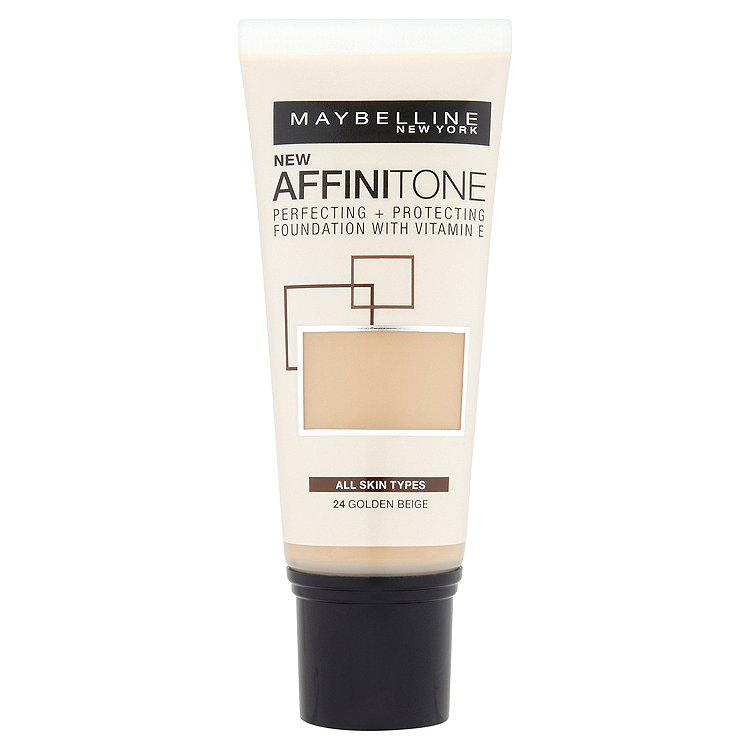 Maybelline Affinitone, hydratační make-up Golden Beige 24