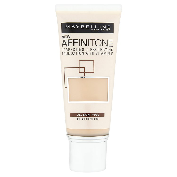 Maybelline Affinitone, hydratační make-up Golden Rose 20