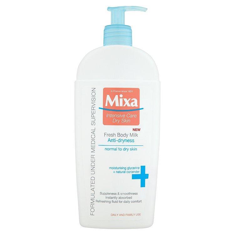 Mixa Fresh osvěžující tělové mléko proti vysušování pokožky 400 ml