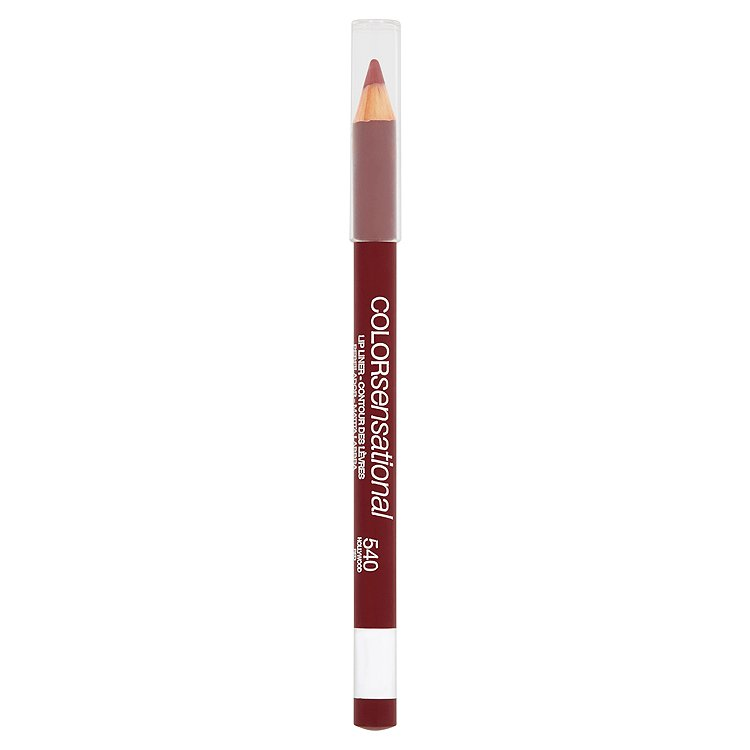 Maybelline Color Sensational, tužka na rty Hollywood Red 540
