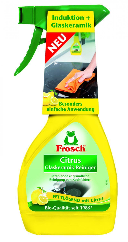 Frosch EKO čistič na indukční a sklokeramické desky 300 ml