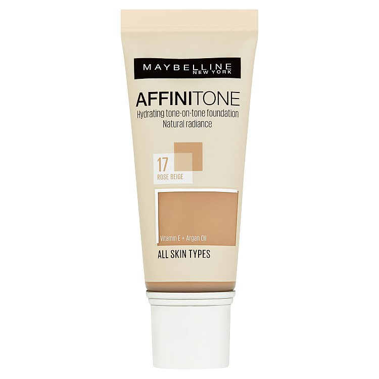 Maybelline Affinitone hydratační make-up Rose Beige 17