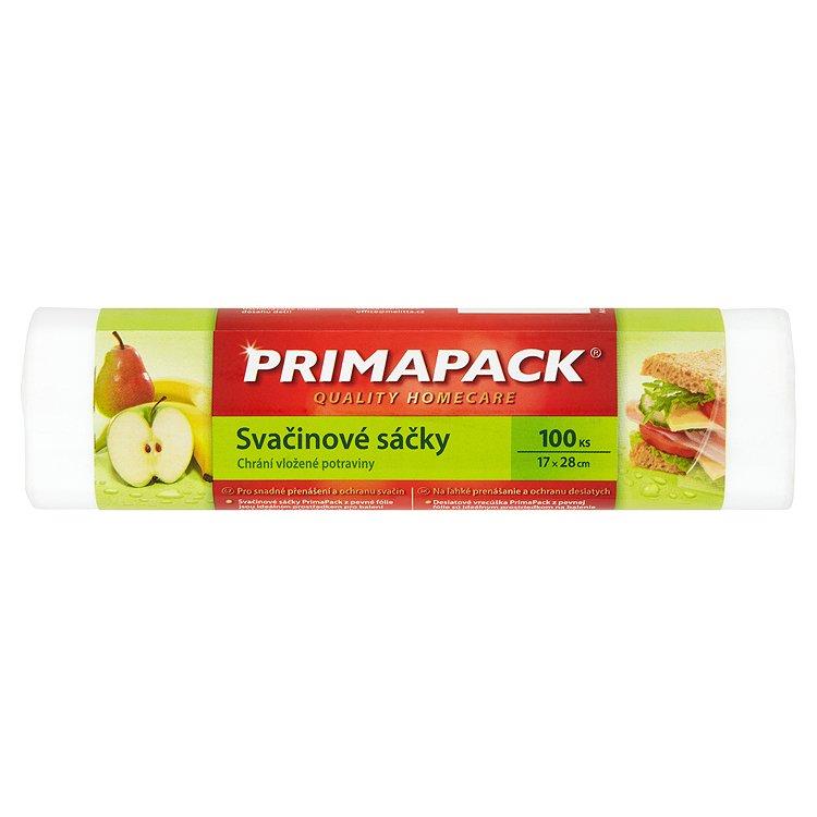 Fotografie Prima Pack Svačinové sáčky 17x28 cm 100 ks