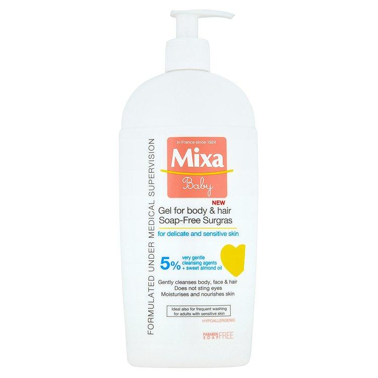 Fotografie Mixa Baby mycí gel na tělo a vlásky 400 ml