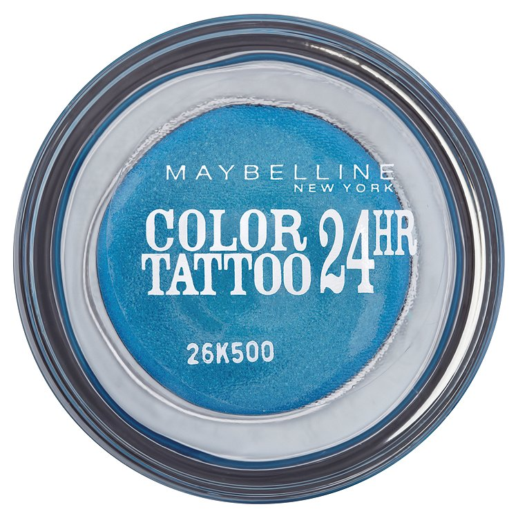 Maybelline oční stíny Color Tattoo 24hr Turquoise Forever 20
