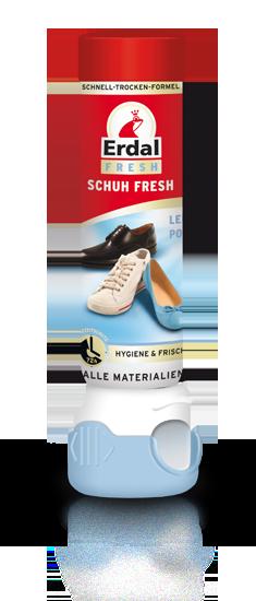 Fotografie Erdal Fresh Osvěžovač obuvi až na 72 hodin 100 ml