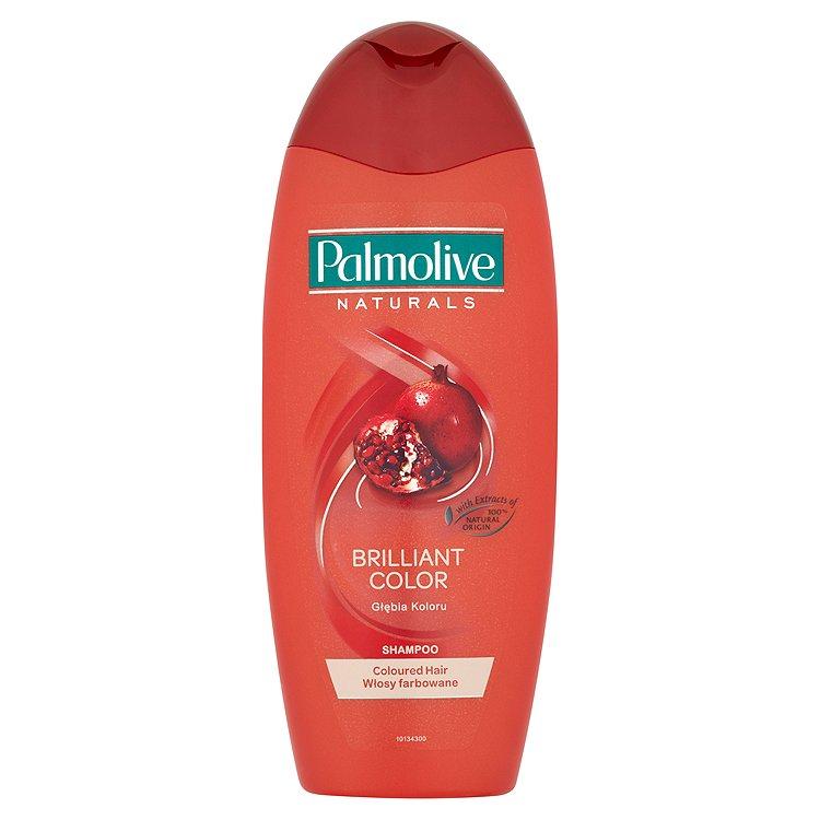Fotografie Palmolive Naturals šampon s výtažky z granátového jablka, perel a mandlového oleje 350 ml