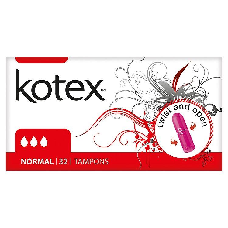 Kotex Normal tampóny 32 ks/bal.
