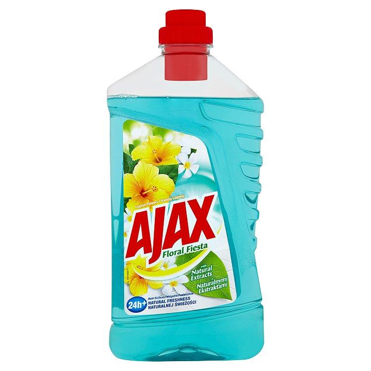 Fotografie Ajax Active Soda čistič povrchů v domácnosti 1000 ml, Lagoon Flowers