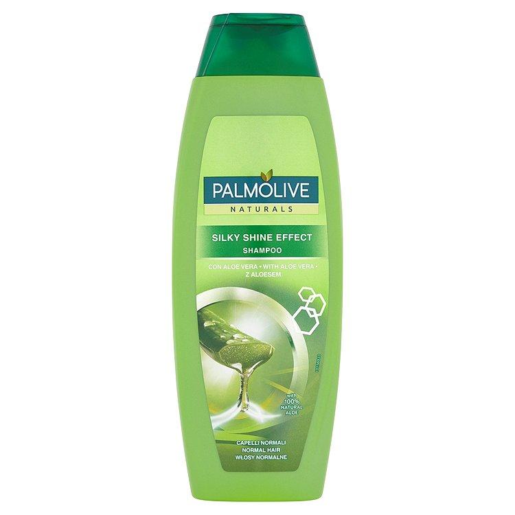 Fotografie Palmolive Naturals Šampon s výtažky z oliv a aloe vera 350 ml