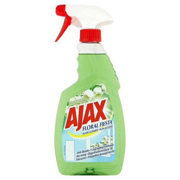 Fotografie Ajax Floral Fiesta čistič skla s rozprašovačem, zelený 500 ml, Flower of Spring