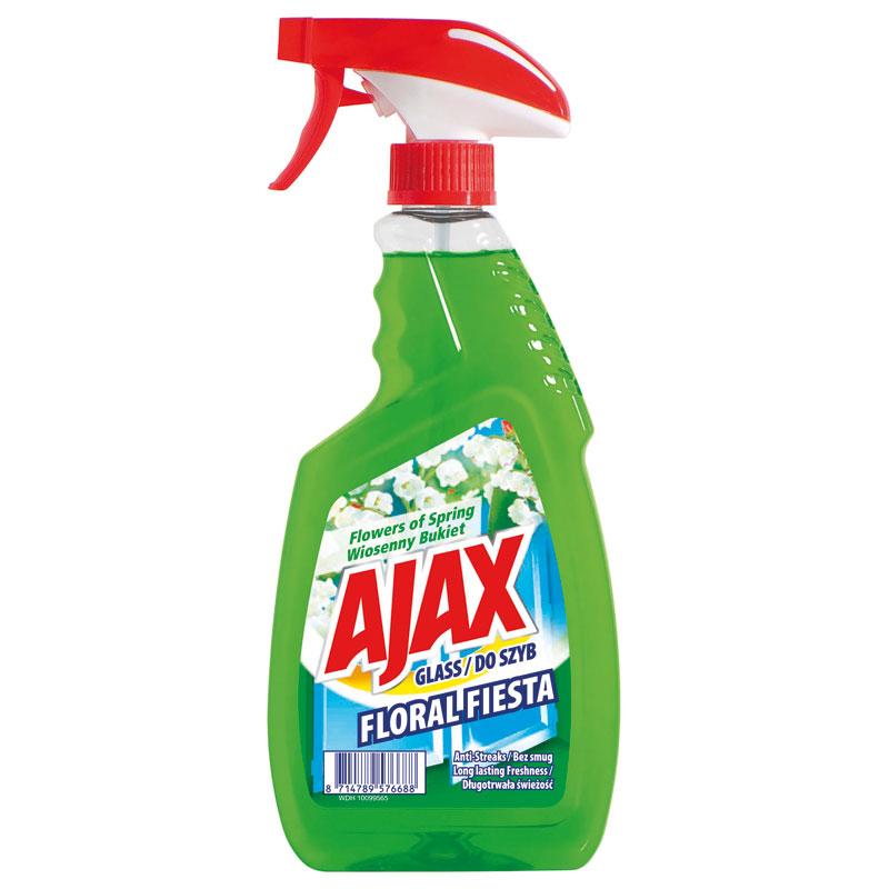Ajax Floral Fiesta čistič skla s rozprašovačem, zelený 500 ml, Flower of Spring