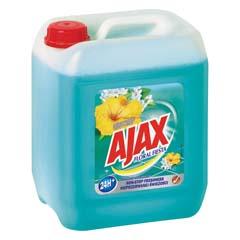 Univerzální čistící prostředek Ajax Floral Fiesta Lagoon Flower modrý 5 l