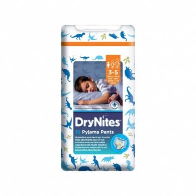 Fotografie Huggies DryNites kalhotkové pleny pro chlapce 3-5 let (16-23kg), 10ks