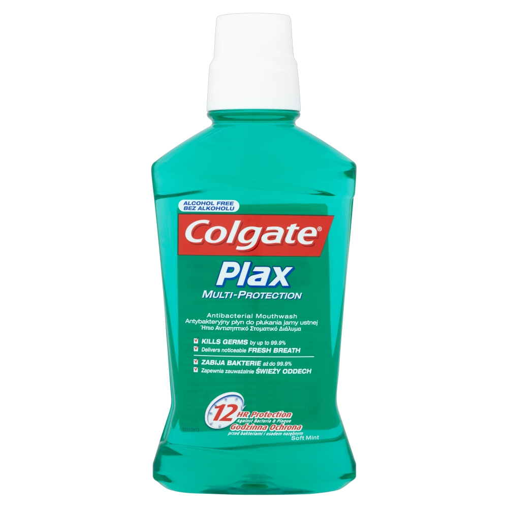 Fotografie Colgate Plax Multi-Protection ústní voda 500 ml