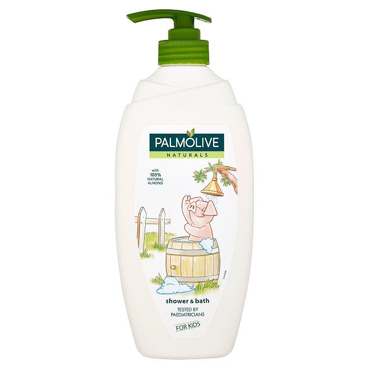 Fotografie Palmolive Naturals Sprchový gel a pěna do koupele pro děti 750ml 750 ml