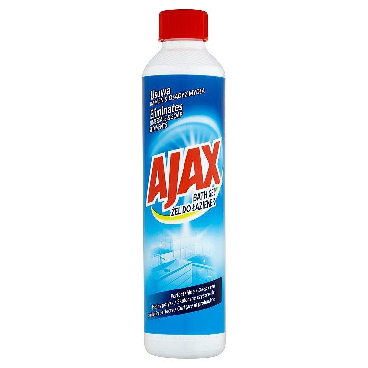 Ajax čisticí gel na koupelny 500 ml