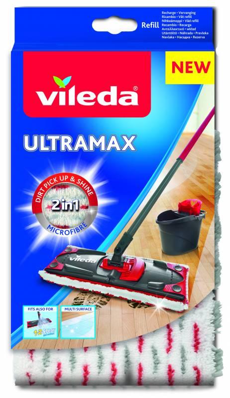 Vileda Ultramax mop náhrada Microfibre 2 v 1 1 ks