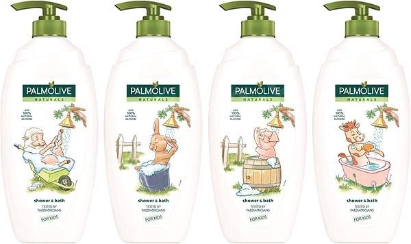 Fotografie Palmolive Naturals Sprchový gel a pěna do koupele 750ml Palmolive