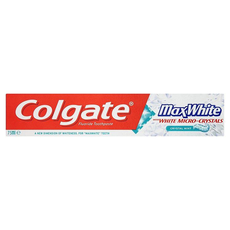 Colgate Max white crystal mint zubní pasta 75 ml