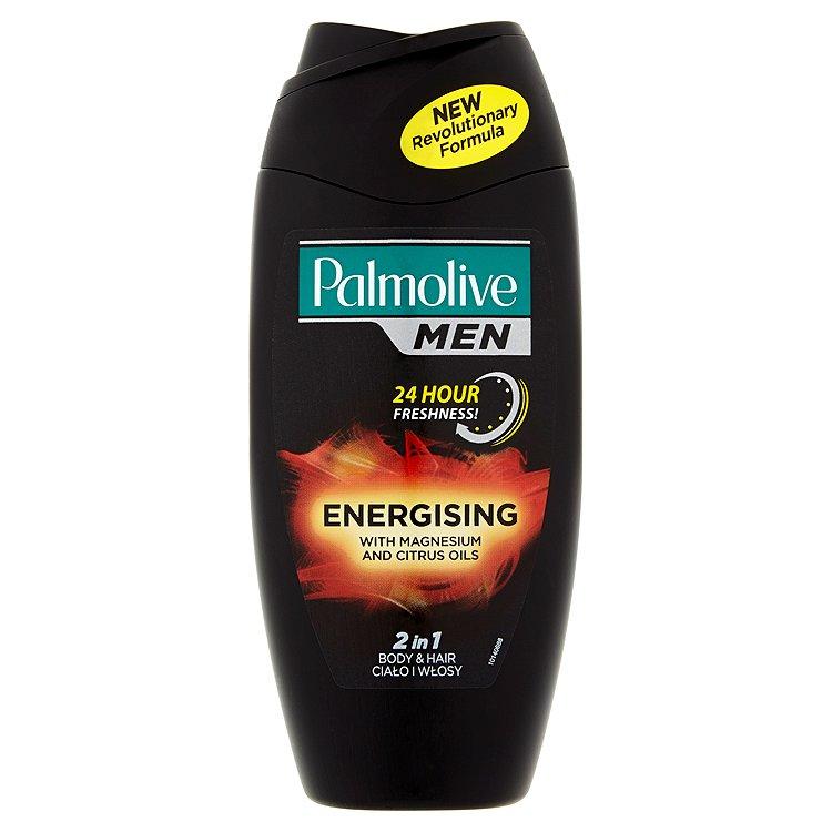 Fotografie Palmolive Energizující sprchový gel pro muže 2v1 na tělo a vlasy For Men (Energising 2 In 1 Body & H