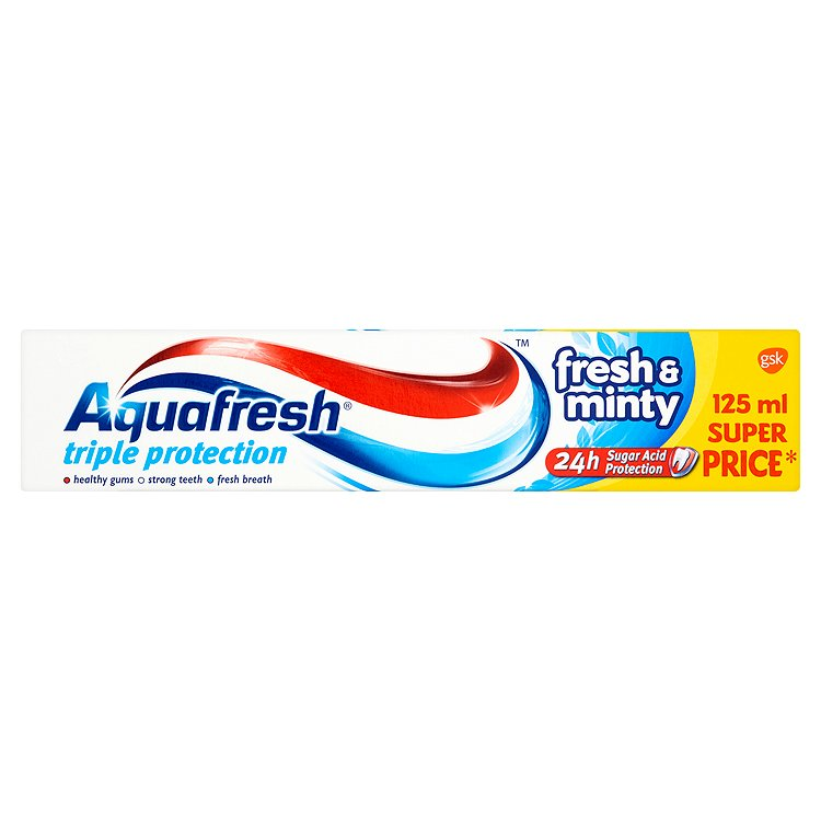 Aquafresh Fresh & minty zubní pasta 125 ml