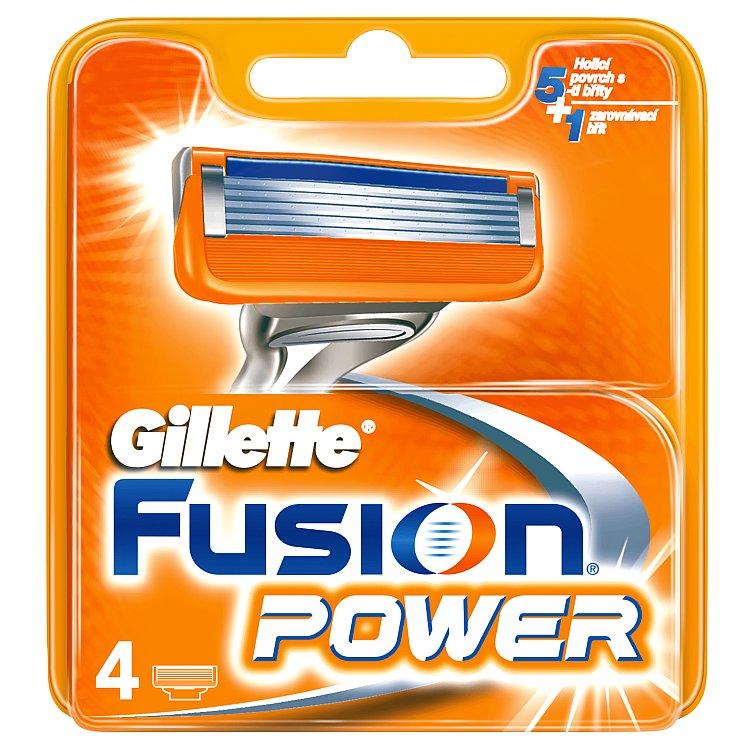 Fotografie Fusion Power náhradní hlavice 4ks