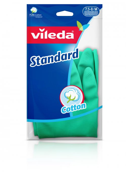 Vileda Standard rukavice pro domácnost, L 1 ks
