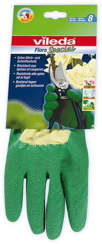 Fotografie Vileda Special rukavice zahradní, M 1 ks