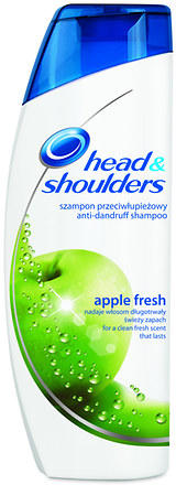 Fotografie Head & Shoulders Apple fresh šampon proti lupům 400 ml