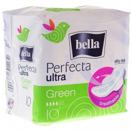 Fotografie Bella Perfecta Ultra Green hygienické vložky 10 ks/balení