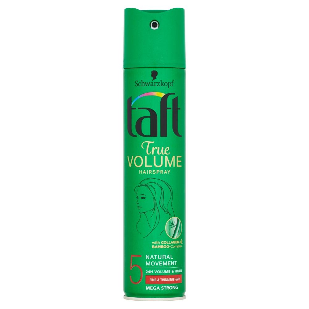 Taft True Volume lak na vlasy Mega Strong 5 250 ml