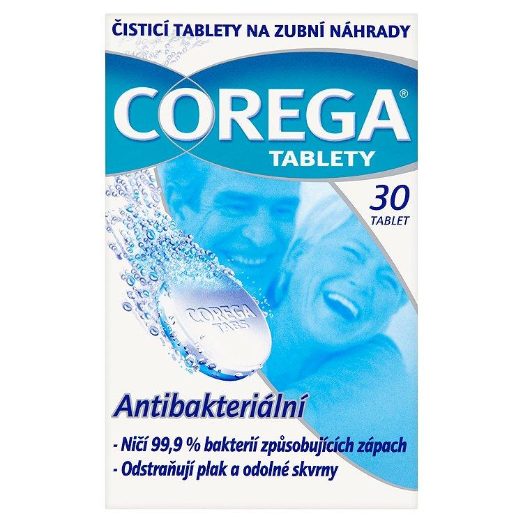Corega čisticí tablety na zubní náhrady 30 ks