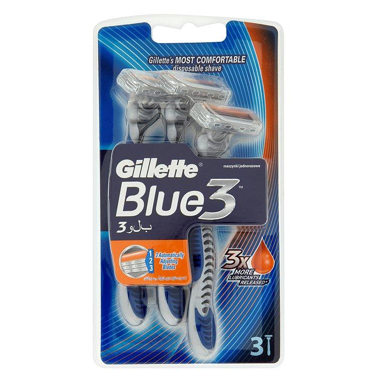Gillette Blue III pohotová holítka 3 ks