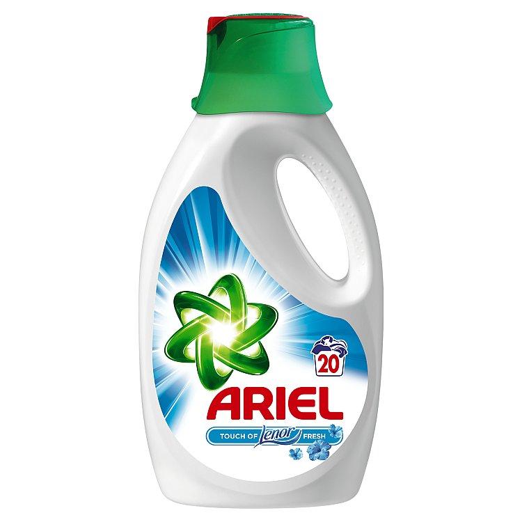 Ariel Touch of Lenor fresh tekutý prací prostředek, 20 praní 1300 ml