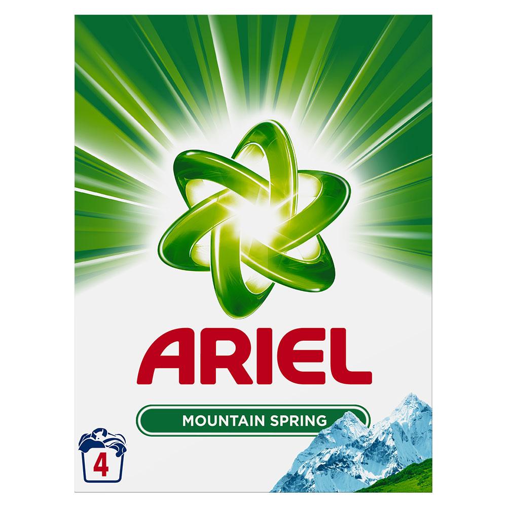 Ariel prášek Mounatin Spring 4 praní 300 g